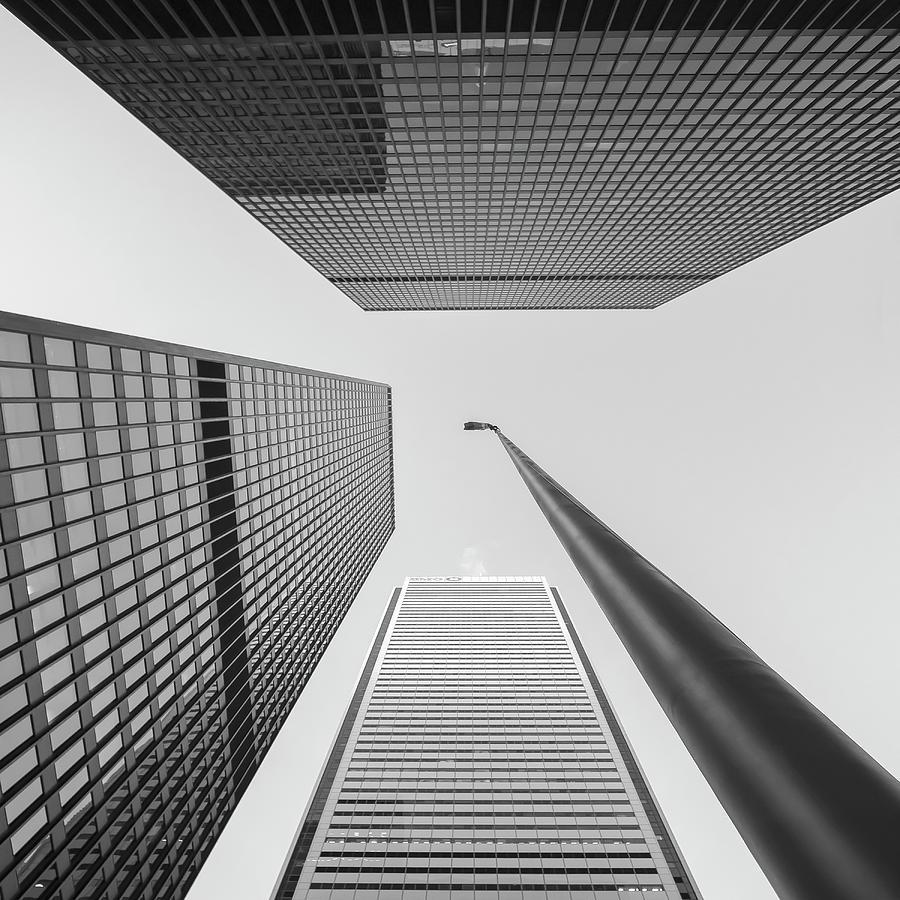 Toronto - Dominion Centre Flagpole by Rick Shea