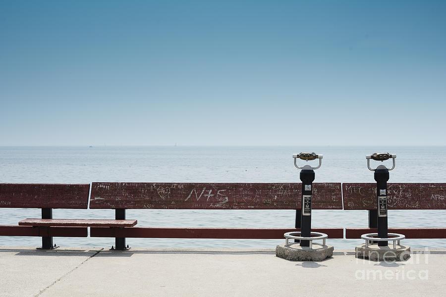 Sail Photograph - Toronto Islands. Toronto. Ontario by Maxi kore