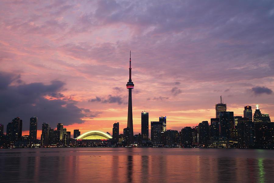 Lake Ontario Photograph - Toronto by Js`s Favorite Things