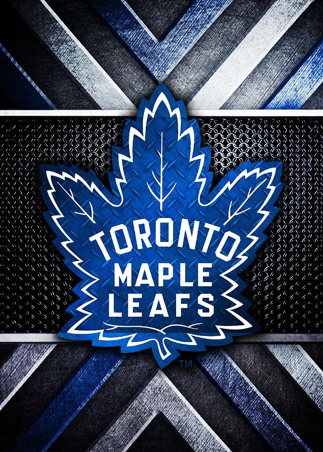 Toronto Maple Leafs Logo Art 1 Digital Art By William Ng