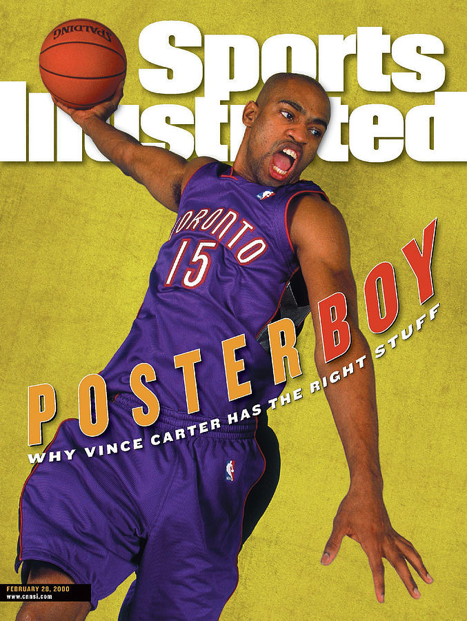 Toronto Raptors Vince Carter Sports Illustrated Cover Photograph by Sports Illustrated