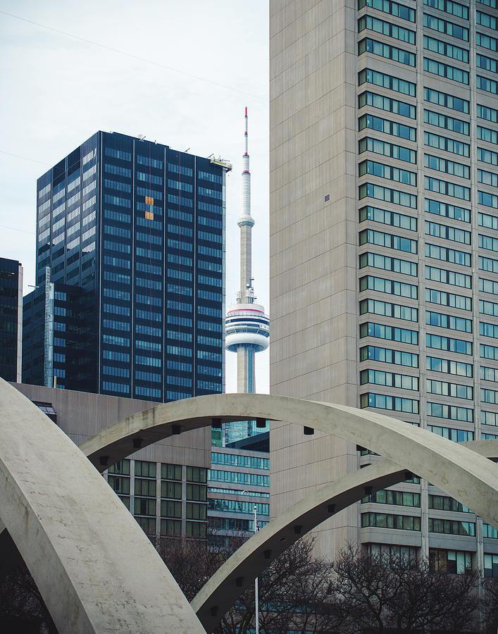 Toronto Tower View by Sonja Quintero