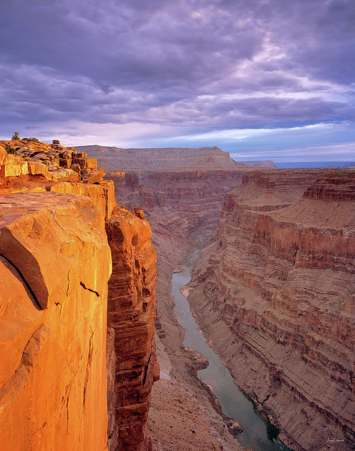 Arizona Photograph - Toroweap Overlook Cliff by Leland D Howard