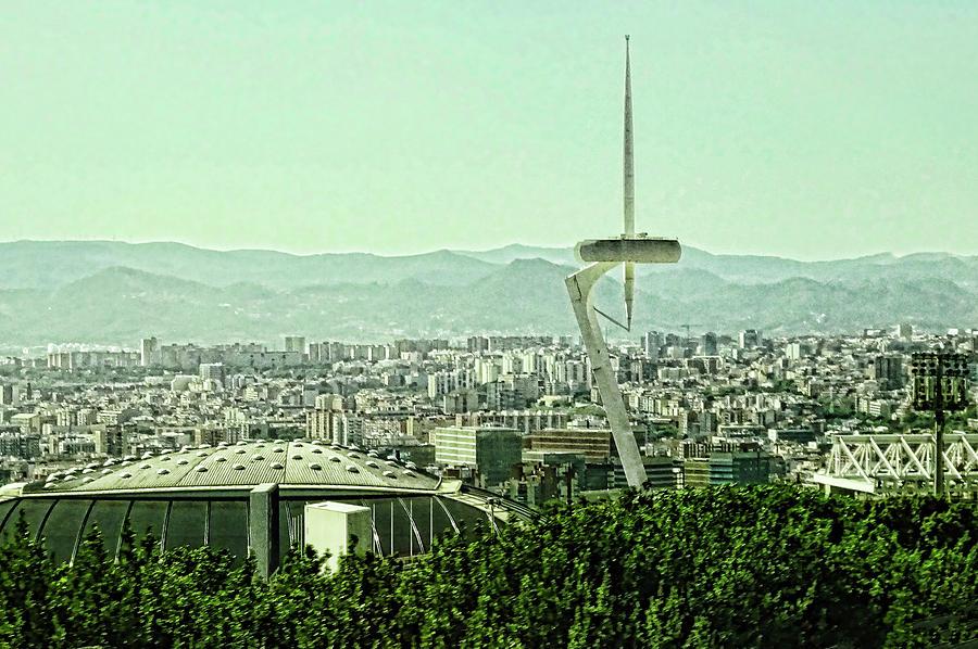 Torre Calatrava  - Barcelona Photograph