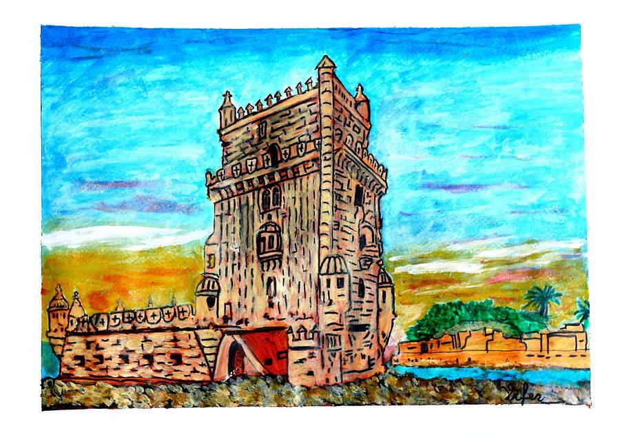 Torre de Belem  Portugal by Vitor Fernandes VIFER