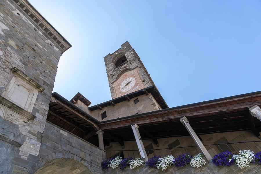 Torre del Campanone - Bergamos Wonderful Medieval Legacy  by Georgia Mizuleva