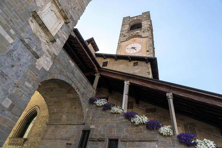 Torre del Campanone - Wonderful Bergamos Medieval Legacy  by Georgia Mizuleva