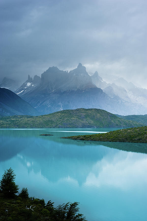 Torres Del Paine And Pehoe Lake Photograph by Pedro Nunez Photography