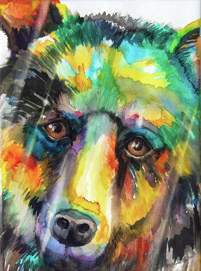 Totem Bear by Patricia Allingham Carlson