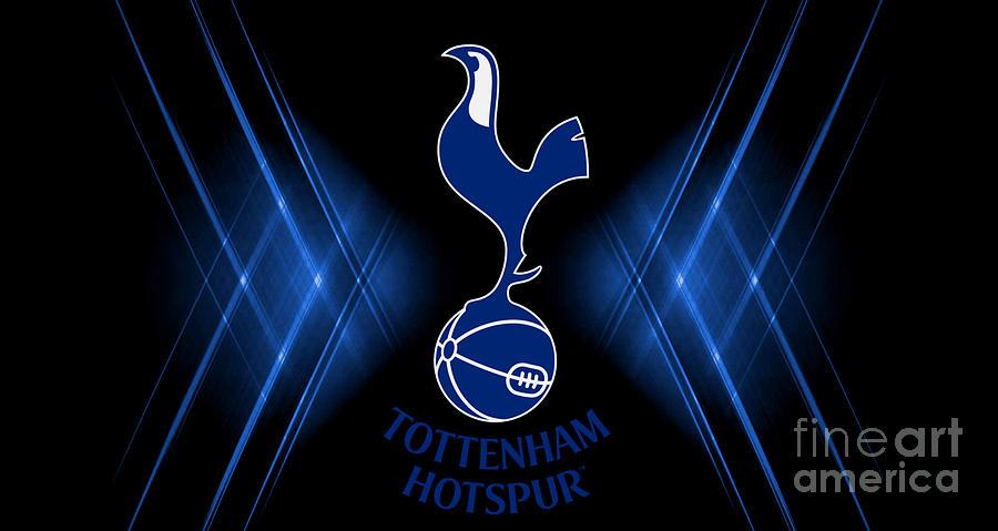 Tottenham Hotspur Digital Art - Tottenham Hotspur by Vera Wahid