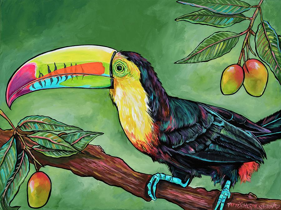 Toucan In The Mango Tree by Patti Schermerhorn