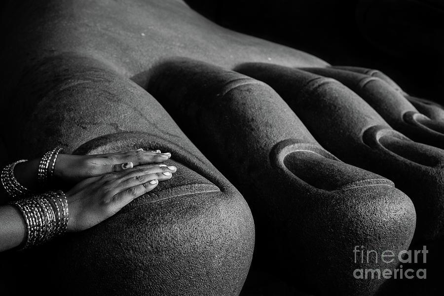 Touch Photograph by Evgeny Igonov