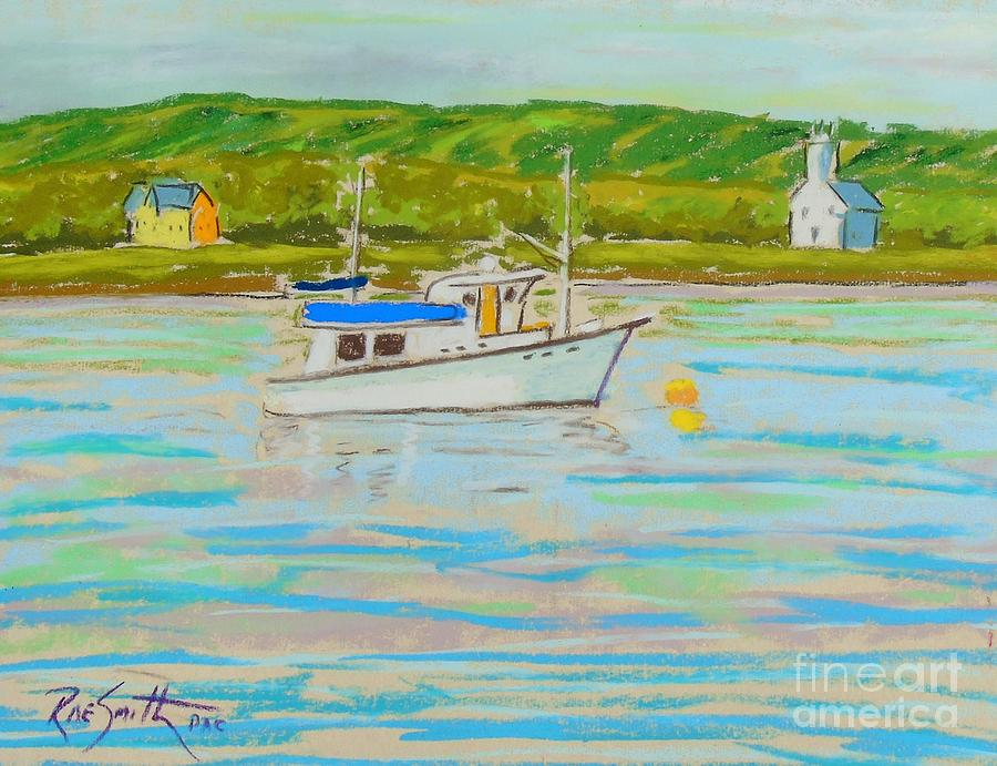 Tour Boat -Annapolis Royal  by Rae  Smith PAC