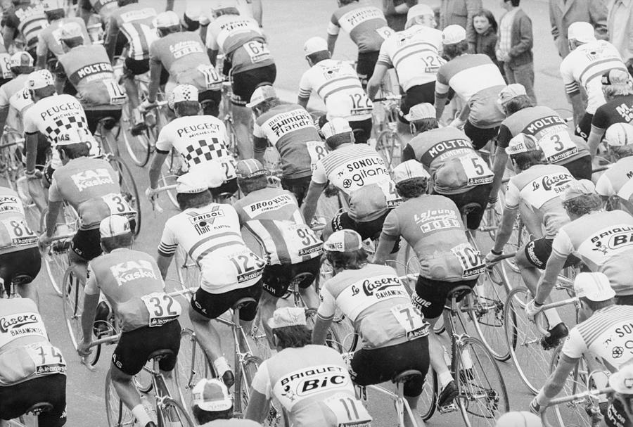 Tour De France Photograph by Mccabe