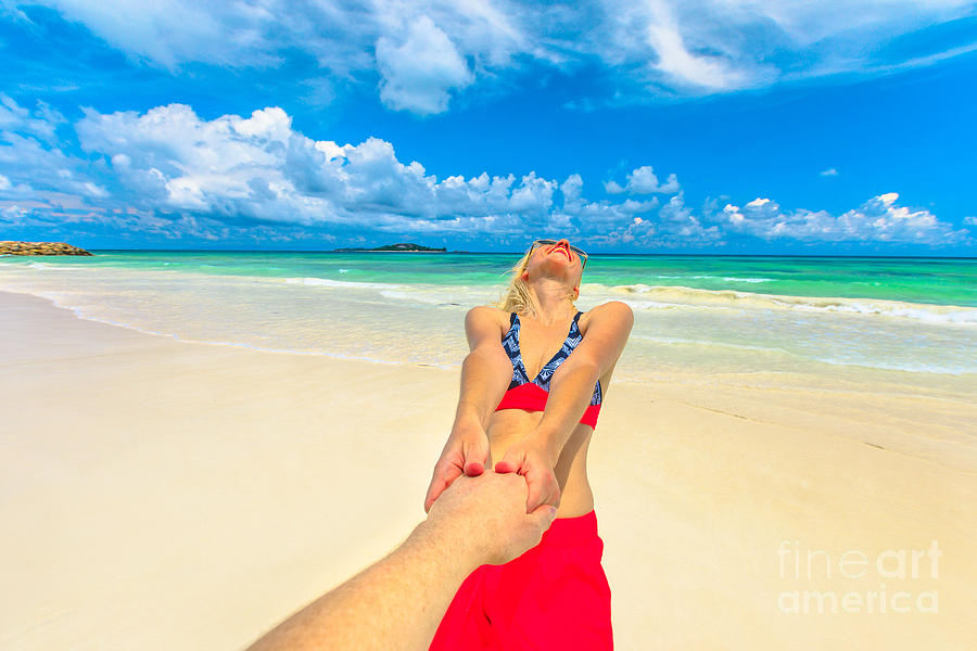 Tourism at Anse Kerlan by Benny Marty