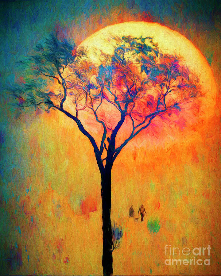 Toward The Sun by Edmund Nagele