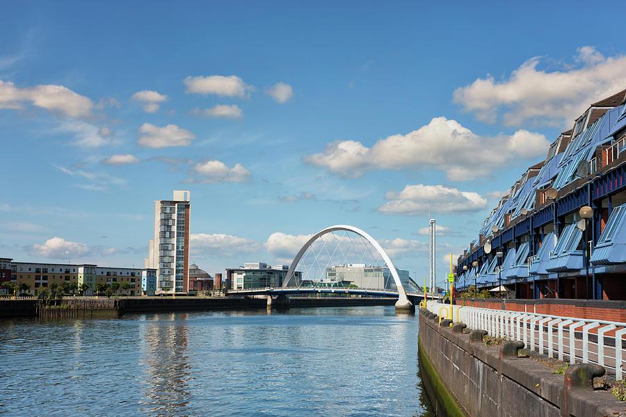 Towards The Finnieston Bridge, Glasgow Photograph by Theasis