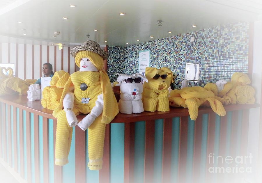 Towel Team by Judy Hall-Folde