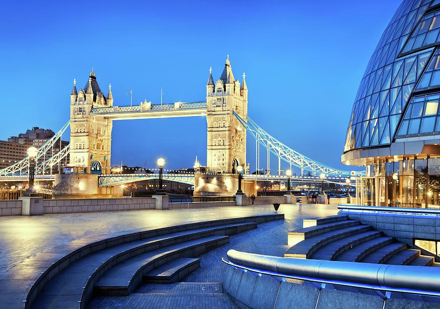 Tower Bridge In London Photograph by Nikada