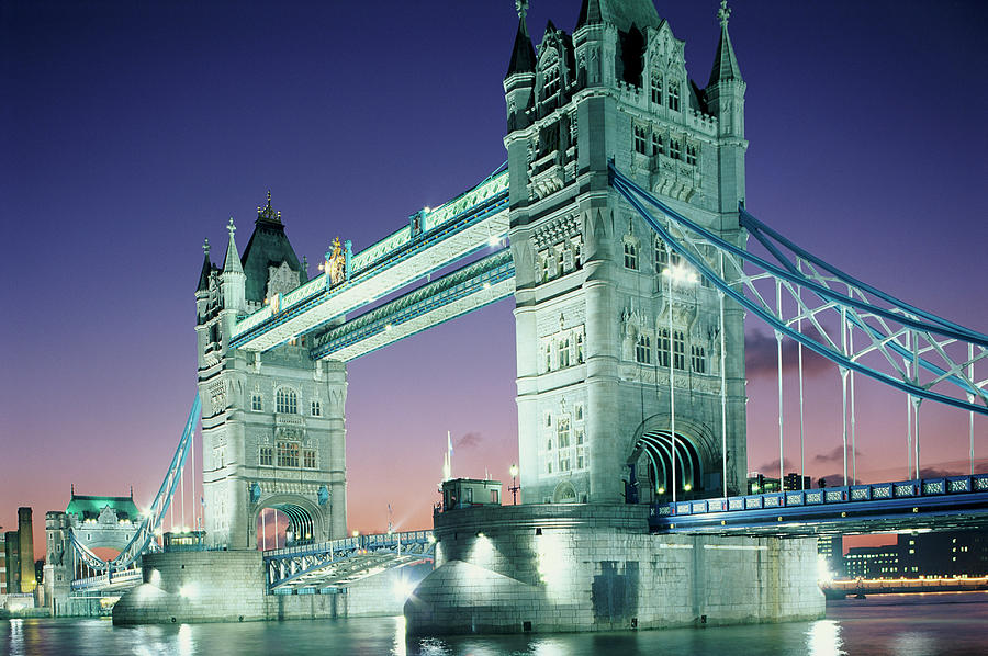 Tower Bridge, London, England, United Photograph by Peter Adams