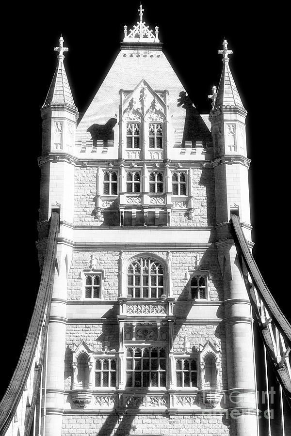 Tower Bridge Photograph - Tower Bridge Tower In London by John Rizzuto