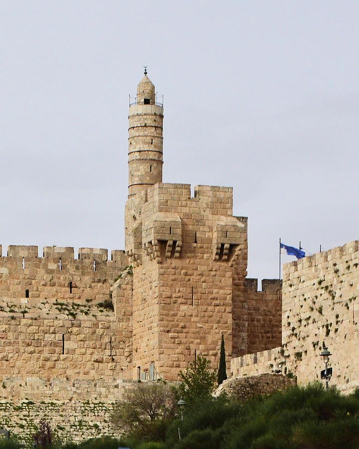 Tower of David in Jerusalem Old City by Alex Vishnevsky