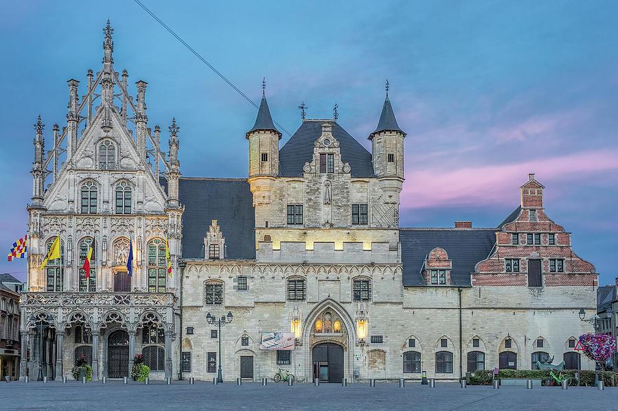 Town Hall Mechelen at Dusk by Jemmy Archer