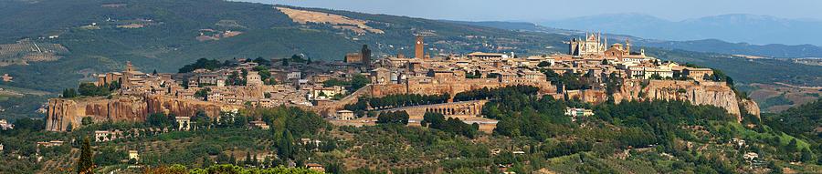 Town Of Orvieto Photograph by Stuart Mccall