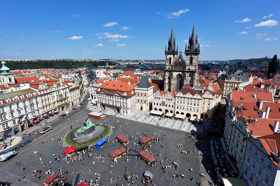 Town Square, Prague Photograph by Pawel.gaul