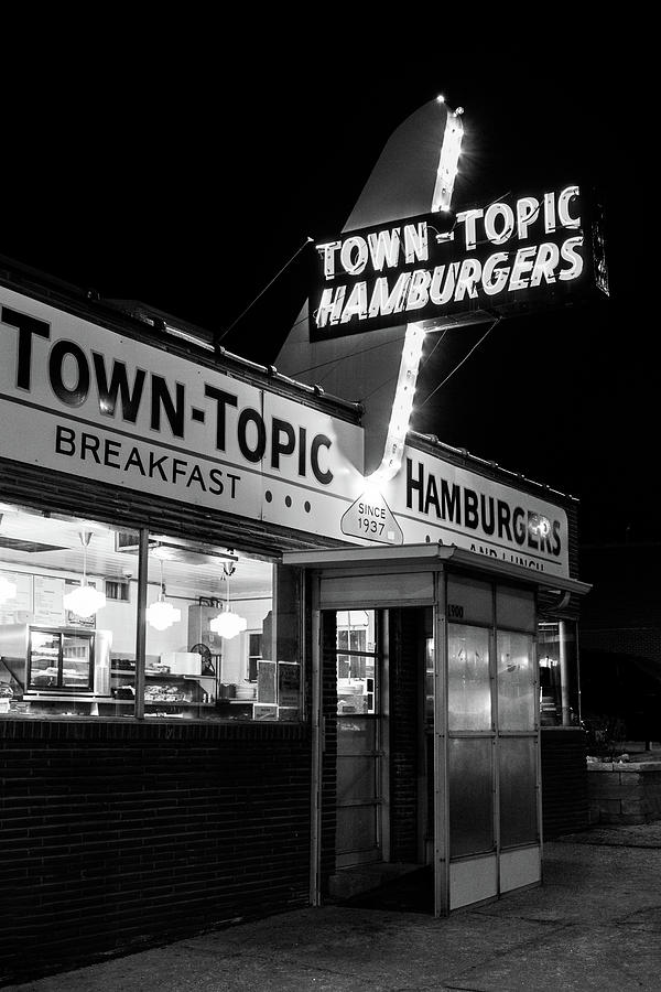 Town Topic Hamburgers Kansas City by Terri Morris