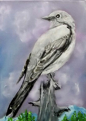 Townsend's Solitaire by Sandra Maddox