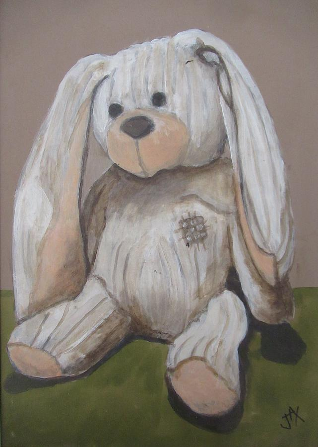 Toy Bunny by Jacqui Simpson