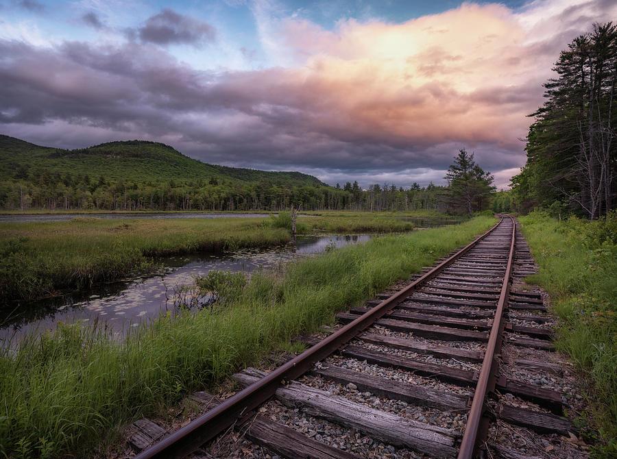 Tracks Through the Mountains by Darylann Leonard Photography