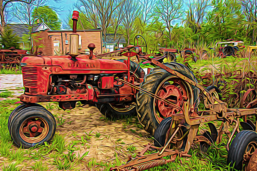 Tractor 1 by Robert Bolla