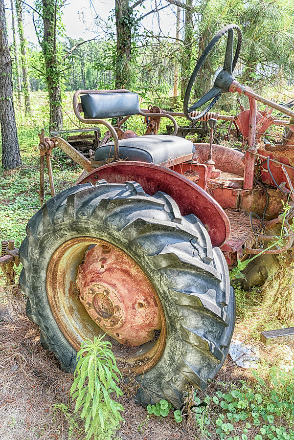 Tractor #3771 by Susan Yerry
