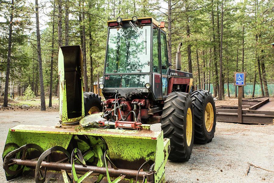 Tractor Snow Blower by Tom Cochran