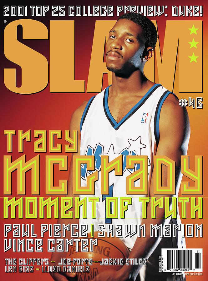 Tracy Mcgrady Photograph - Tracy McGrady: Moment of Truth SLAM Cover by Atiba Jefferson