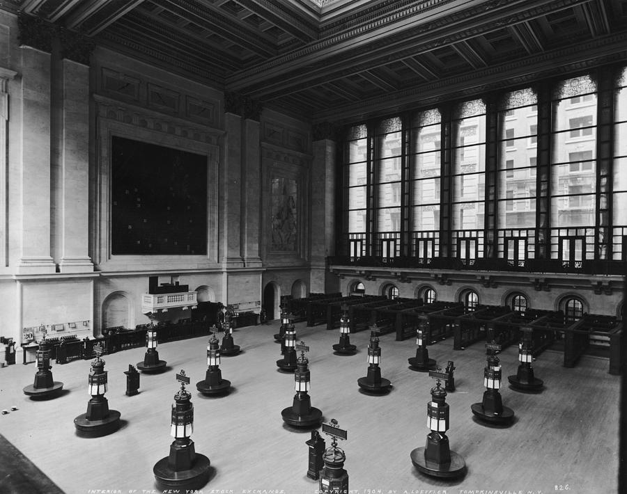 Trading Floor Photograph by Hulton Archive