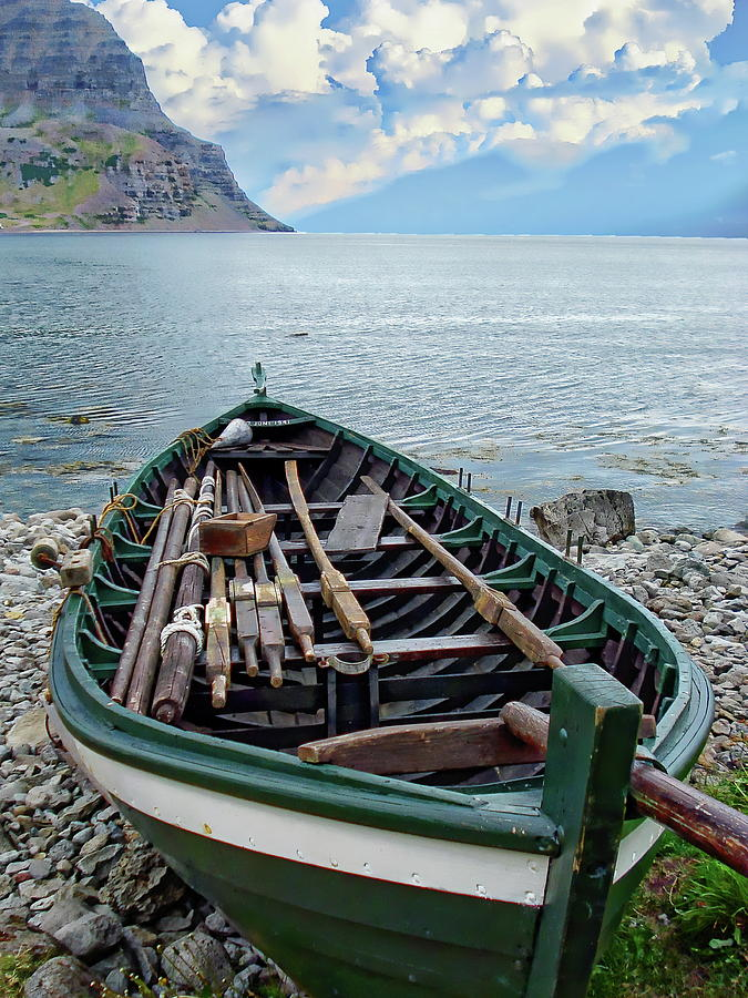 Traditional Fishing Boat by Anthony Dezenzio
