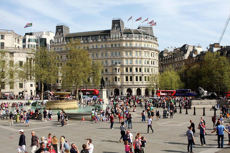 Trafalgar Square, London by Aidan Moran