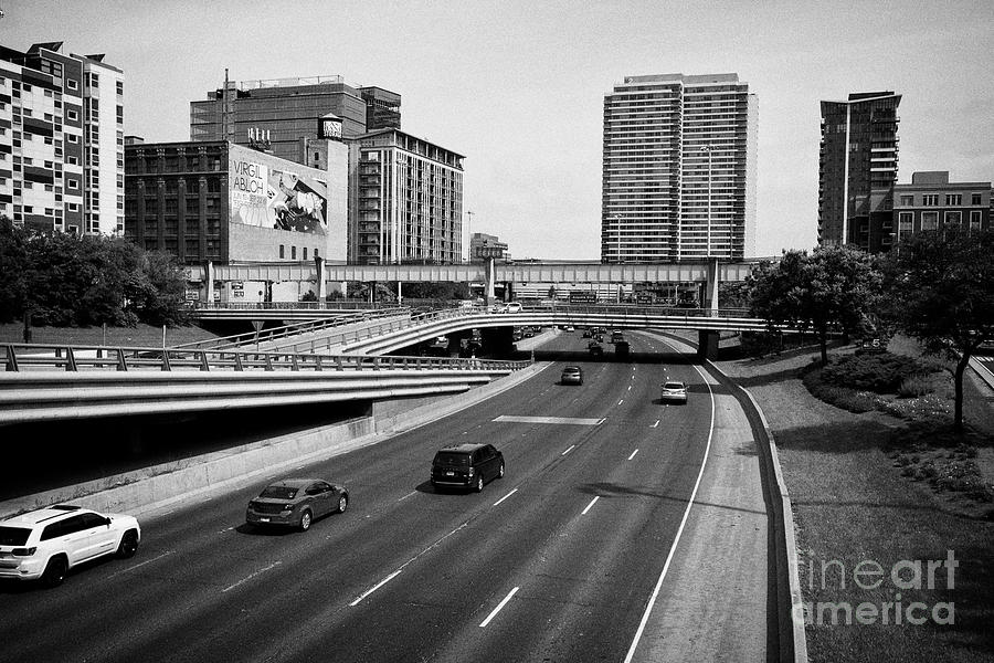 Traffic Heading Out Of Chicago On The I-90 And I-94 The Dan Ryan Expressway  Highway Interstate Highw by Joe Fox