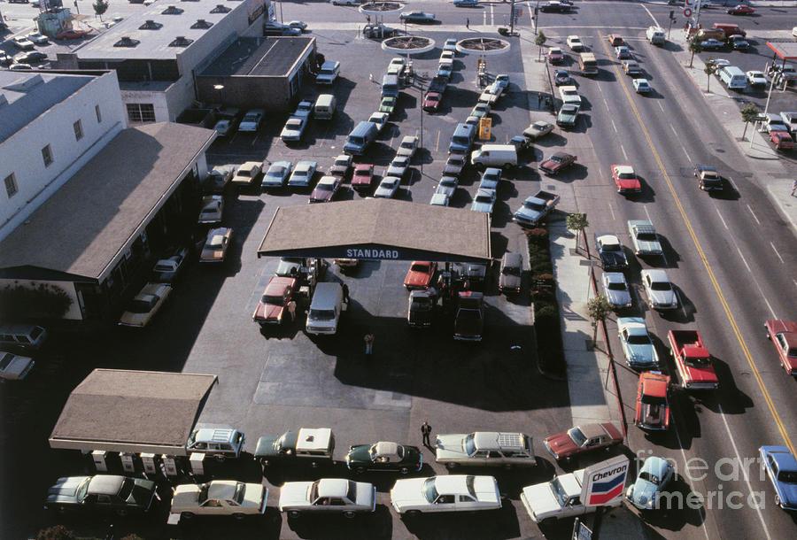 Traffic Jam On Expressway Photograph by Bettmann