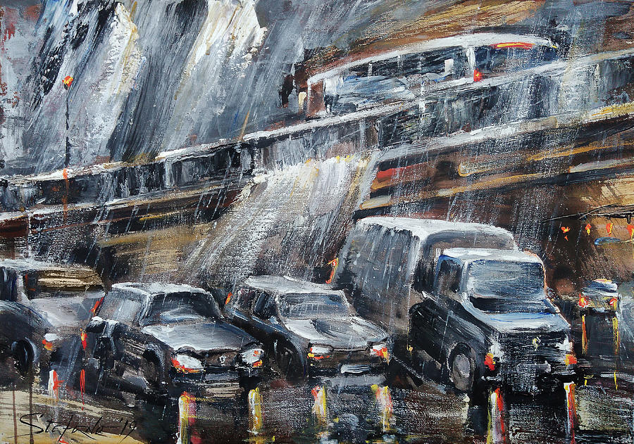 Traffic Painting - Traffic by Stefano Popovski