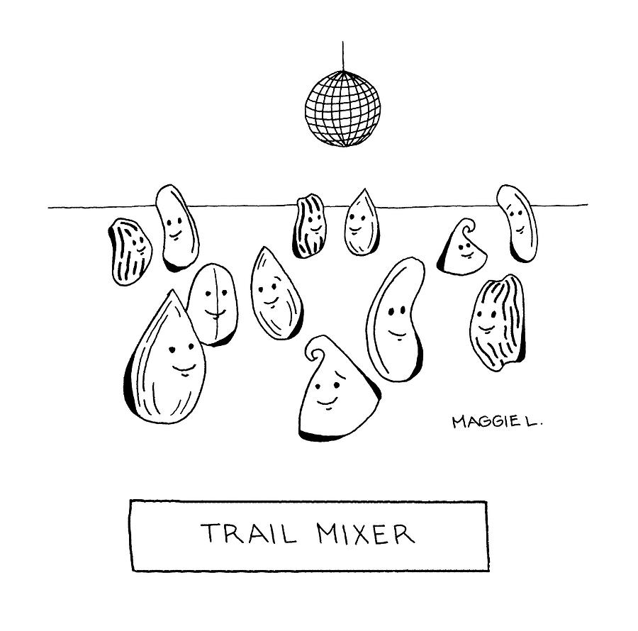 Trail Mizer Drawing by Maggie Larson