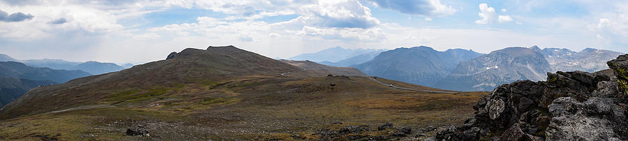 Trail Ridge Road Arctic Panorama by Nicole Lloyd