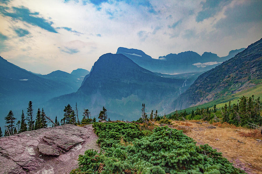 Trail to Grinnell Glacier by Lon Dittrick