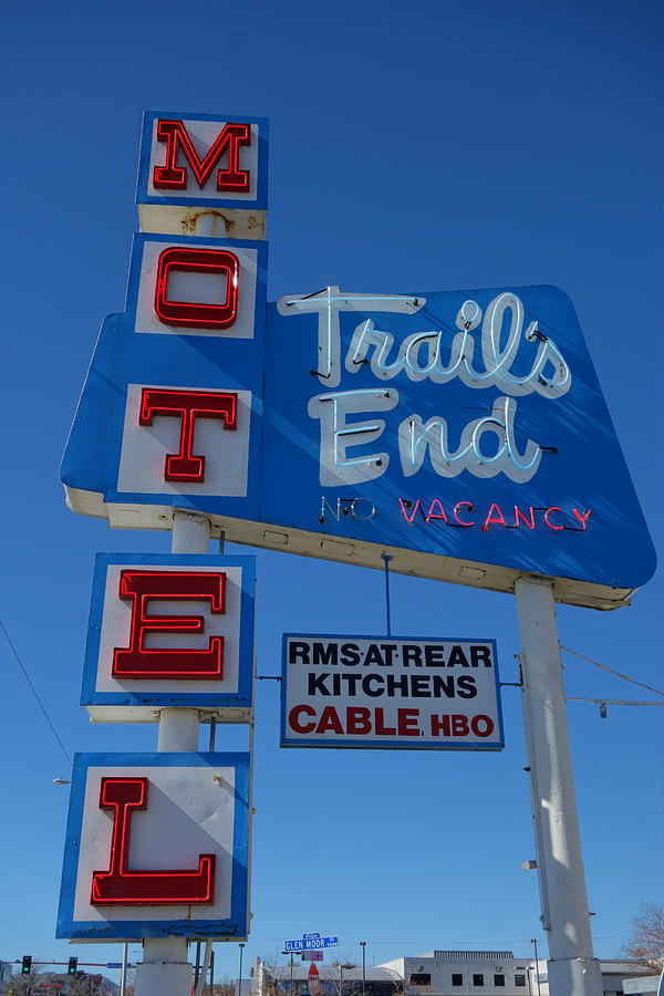 Trail's End Motel by Matthew Bamberg