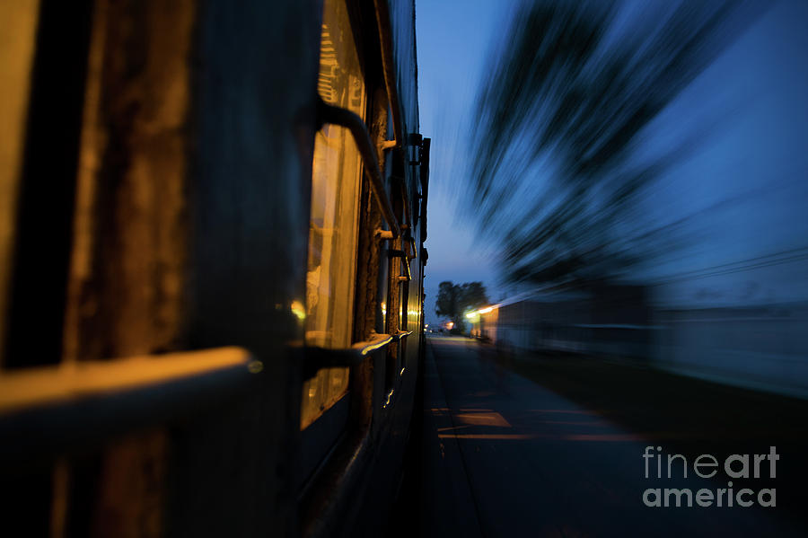 Train in Motion by Awais Yaqub