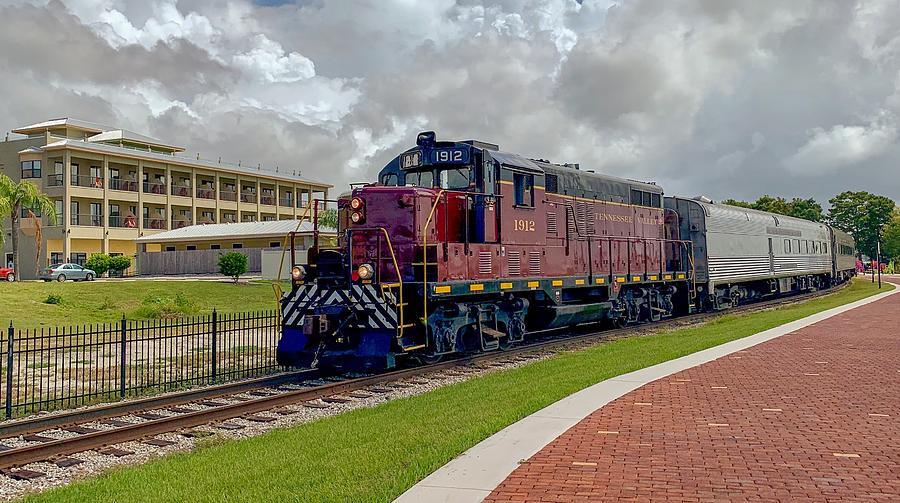 Train On The Tracks Photograph