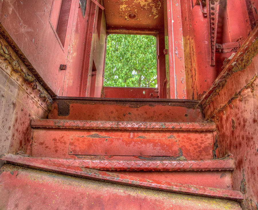 Train Stairs by Jean Noren